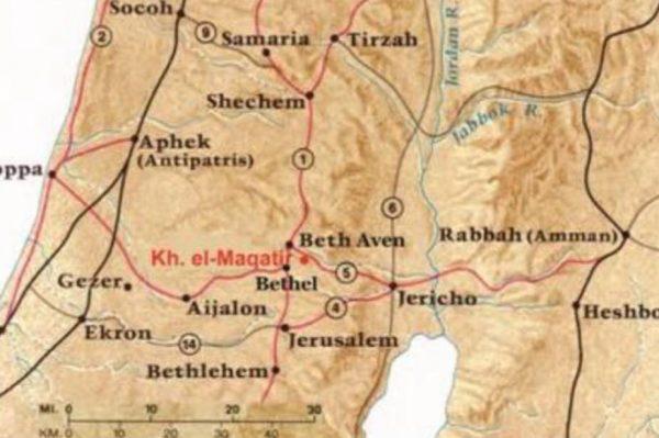 #43 Shechem to Bethel